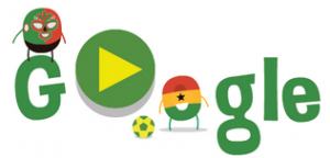 Mexico Vs Cameroon Google Doodle