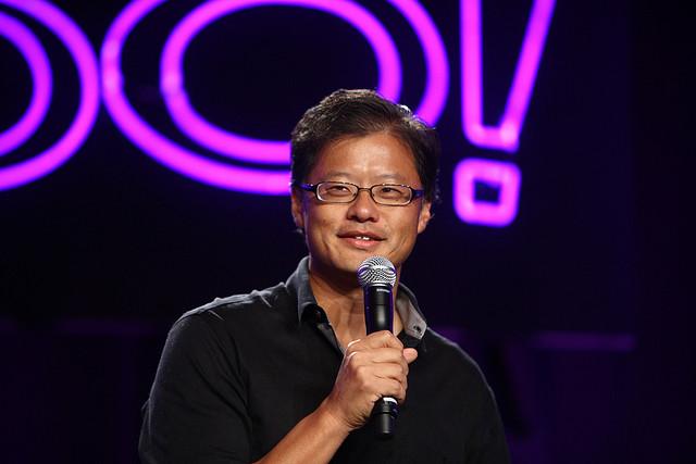 Yahoo/Flicker -- Jerry Yang, Asian American founder of Yahoo