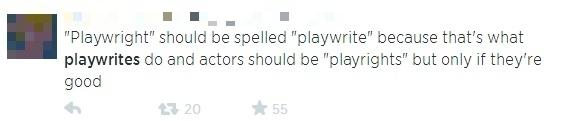 playwrites blurred
