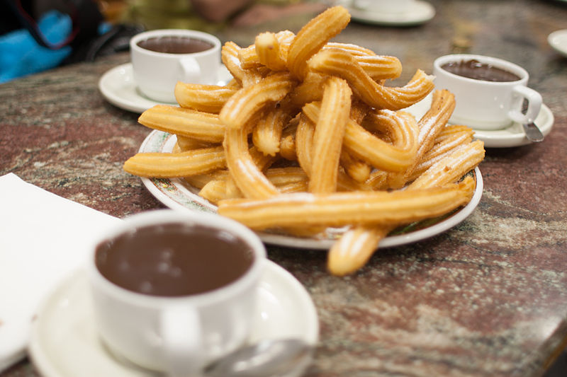 By Tim Lucas from Sydney, Australia (Churros con Chocolate) [CC BY 2.0], via Wikimedia Commons