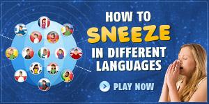 Sneezes around the world!